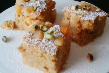Bodding / pudding Fruité au pain d'épices