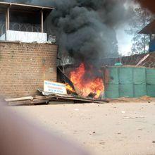 RDC : en colère, des habitants de Beni ont incendié la mairie et une base de la Monusco