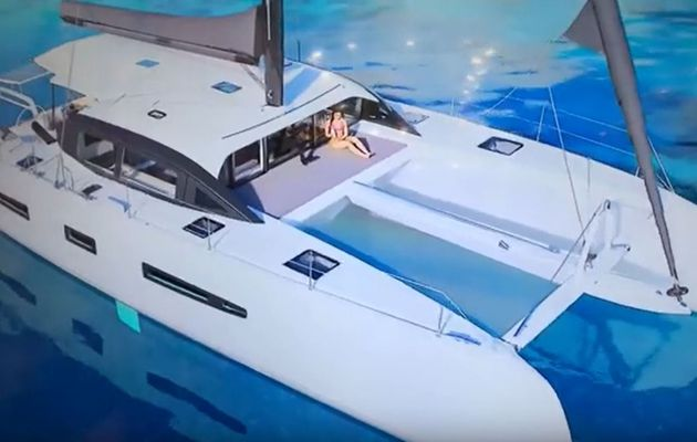 Interview - Outremer Yachting, a 55-foot catamaran announced