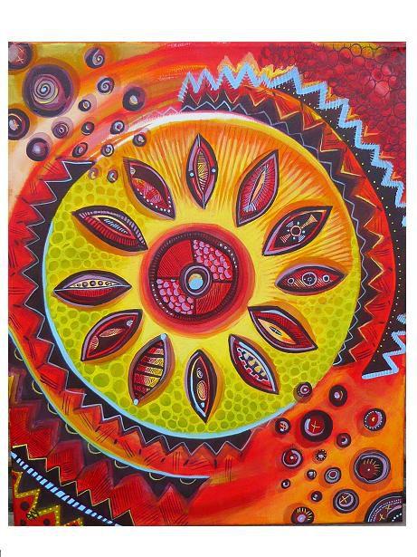 Ici sont regroupées les toiles inspirées de motifs tribaux, ethniques ou tout simplement du monde.