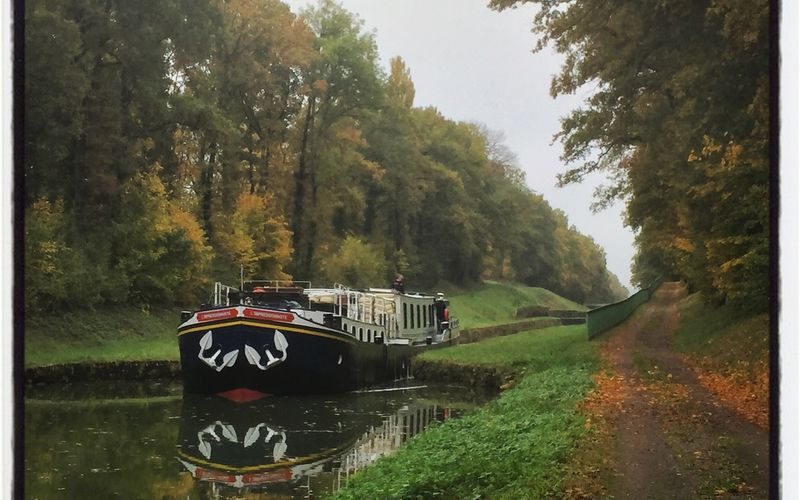 Au fil du canal de Bourgogne, en gravel bike
