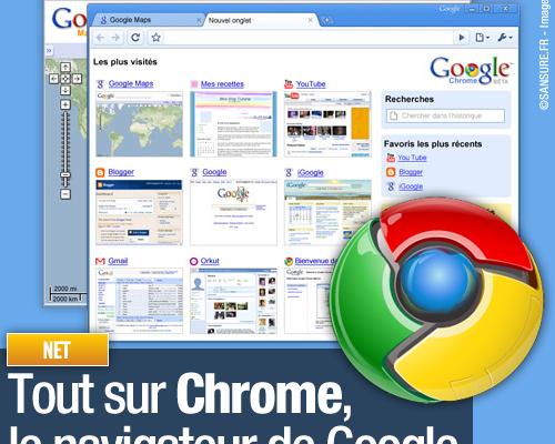 Tout sur Chrome, le navigateur de Google
