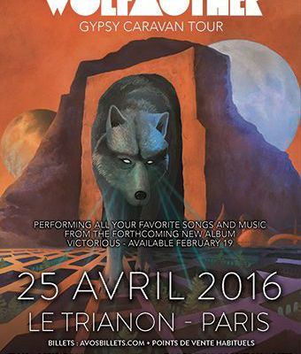 Agenda : Wolfmother au Trianon, le 25 avril 2016