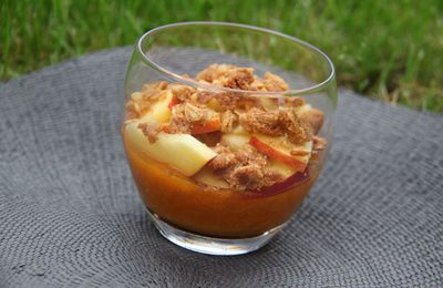 Crumble Abricots - Nectarines