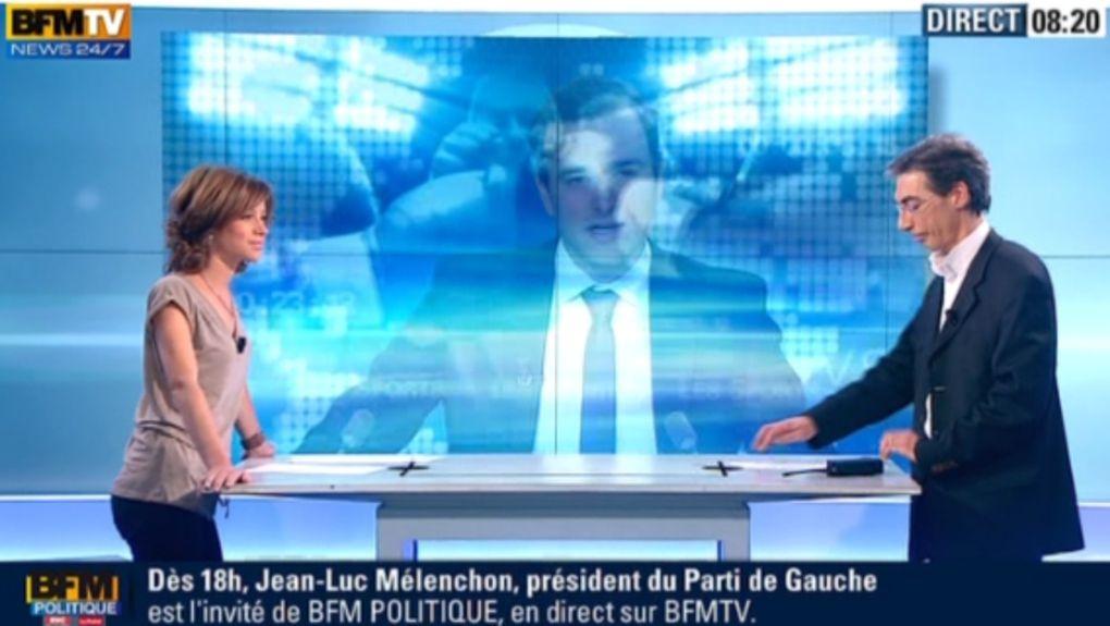2012 12 02 - CELINE PITELET - BFM TV - WEEK-END PREMIERE @07H00