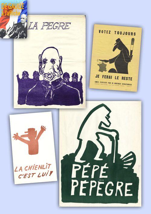 Exposition De Gaulle à l'affiche : exposition itinérante à louer/imprimer