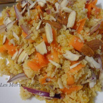 Couscous orange carotte