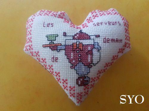 Cœur Valentin  Robots serveurs, face B