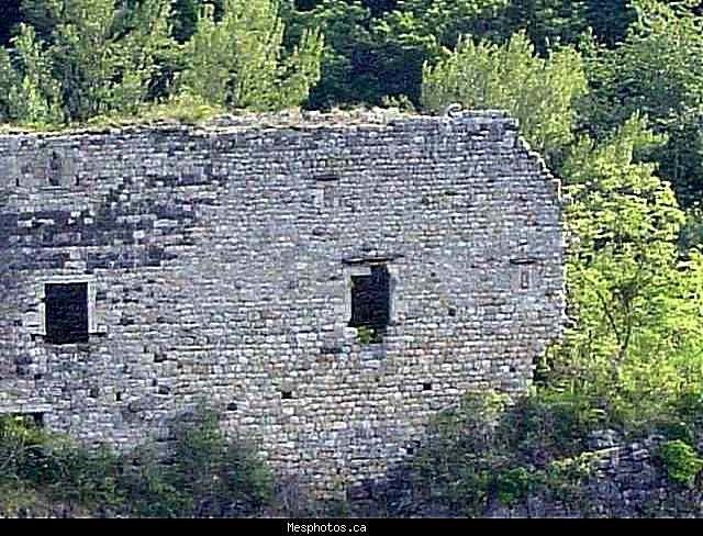 Diaporama château de Montpezat sous bauzon - Pourcheyrolles