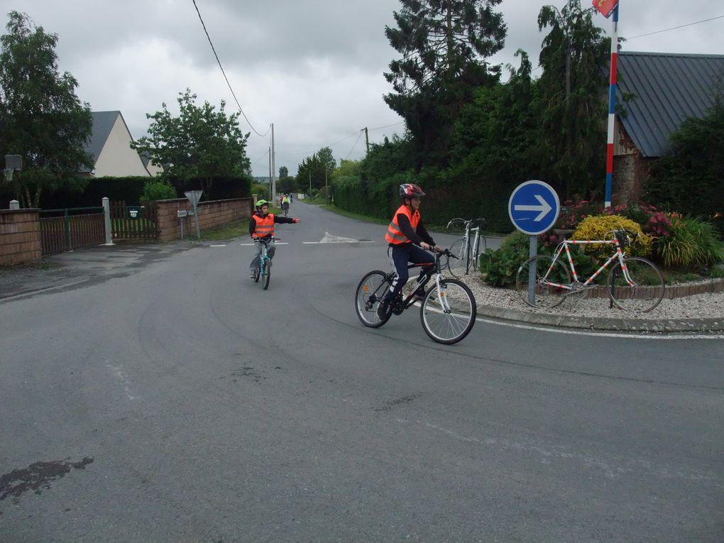 Mont St Michel-Avranches à vélo pour les CM2