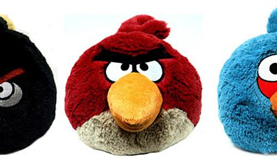 Peluches Angry Birds !