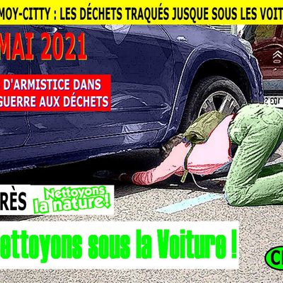 CHARMOY-CITY : PAS D'ARMISTICE POUR LA GUERRE MÉNAGÈRE -  du 10 MAI 2021 (J+4527 après le vote négatif fondateur)