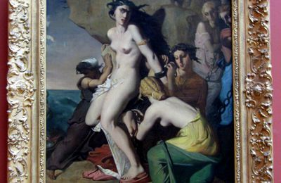 Théodore Chasseriau, Andromède attachée au rocher par les Néréides