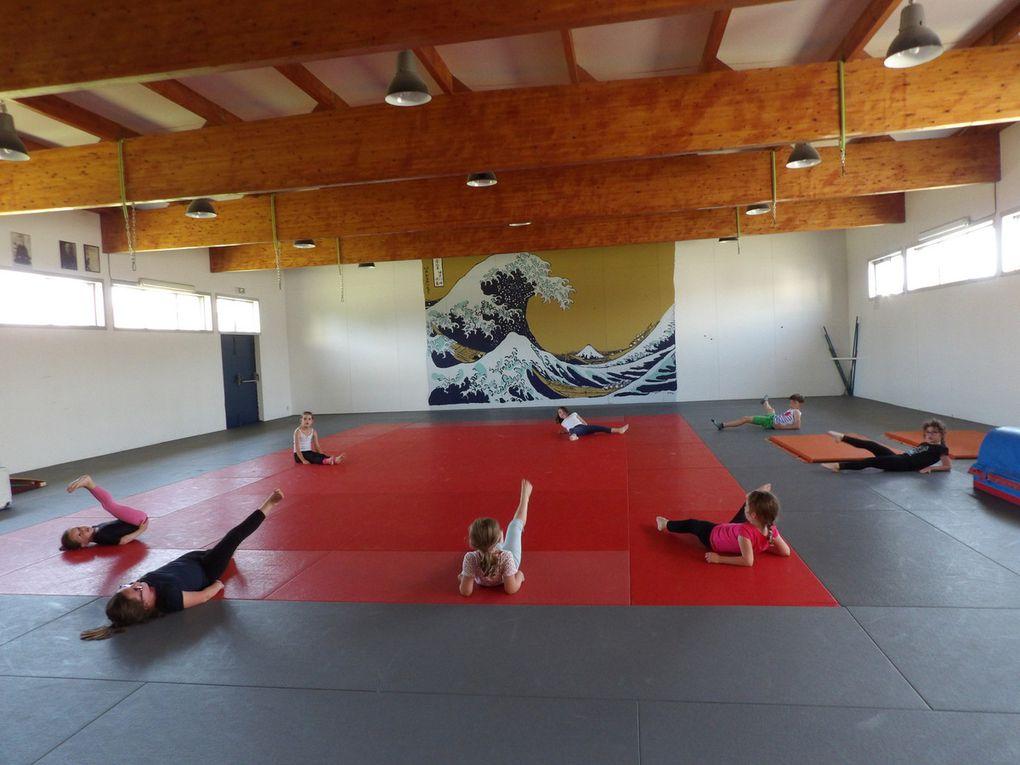 Les cours de gym-enfants en images.