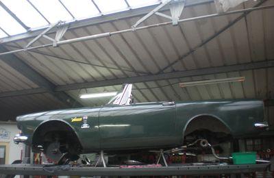 LA BONNE NOUVELLE  de la semaine En AVIGNON, prochainement l'ouverture d'un garage pour l'entretien d'automobiles anciennes et youngtimers
