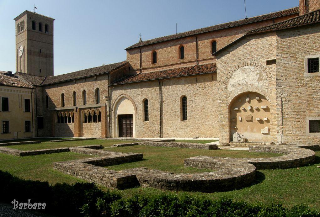 SESTO AL REGHENA l'Abbazia fortificata ... quasi un castello.