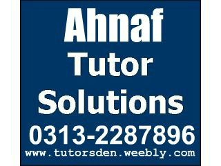 Lahore Commerce Tutor and Tuition Academy , Accounting Tutor, MBA Teacher
