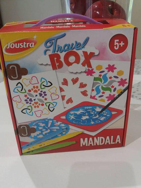 Travel Box - Mandala de chez Joustra - Activité manuelle pour enfant