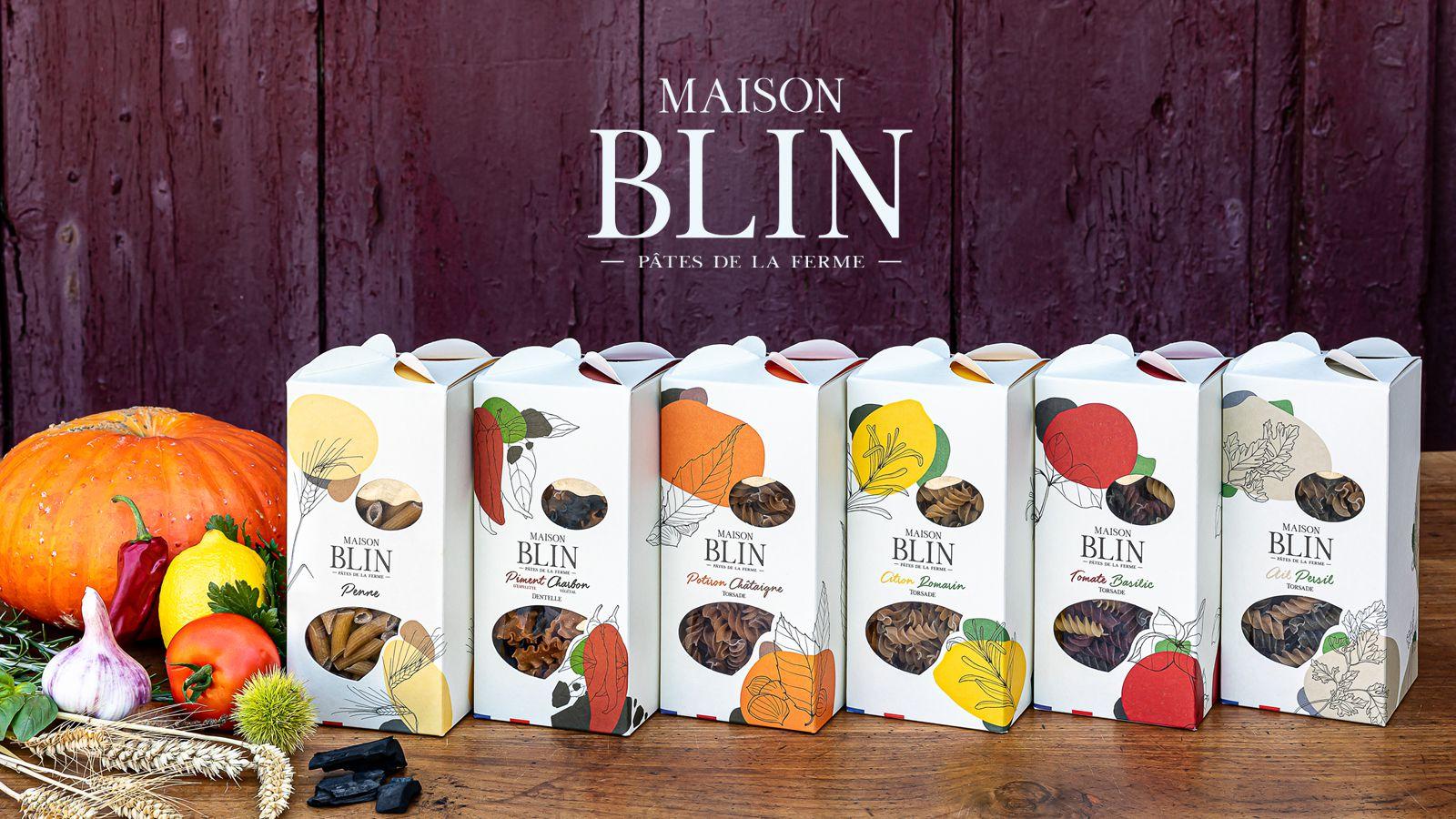 Maison Blin (pâtes artisanales) I Design : 2S GLOBAL DESIGN, France (octobre 2020)