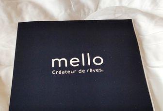 Ma collaboration avec Mello : surmatelas en coton