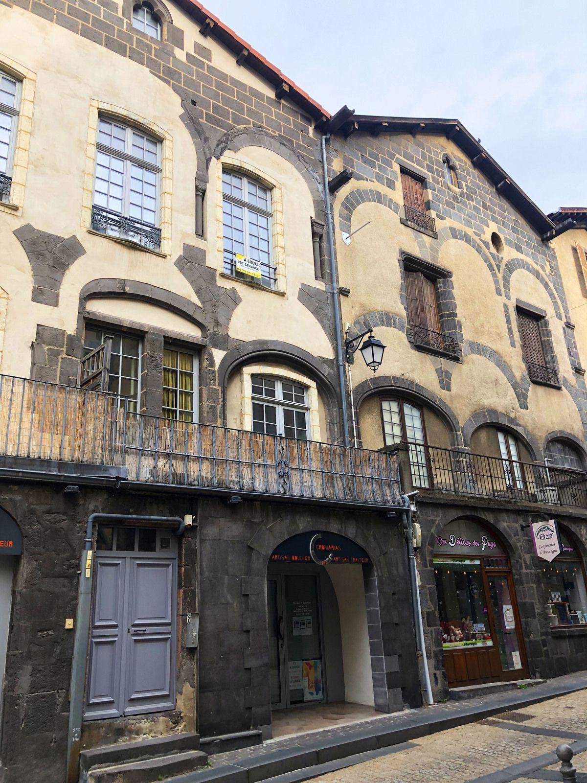 Quartier Montferrand sur Clermont-Ferrand