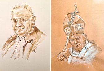 CANONISATIONS DE JEAN XXIII ET JEAN PAUL II : MESSE D'ACTION DE GRACES A AIX DIMANCHE 27 AVRIL