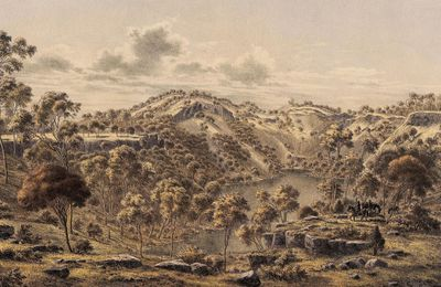 Aboriginal history and the Budj Bim volcano.