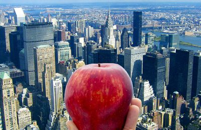 La grosse Pomme,  New-York  !
