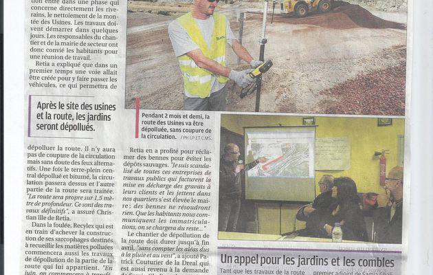 Montée des Usines: la dépollution va commencer - la Provence 7 février 2013