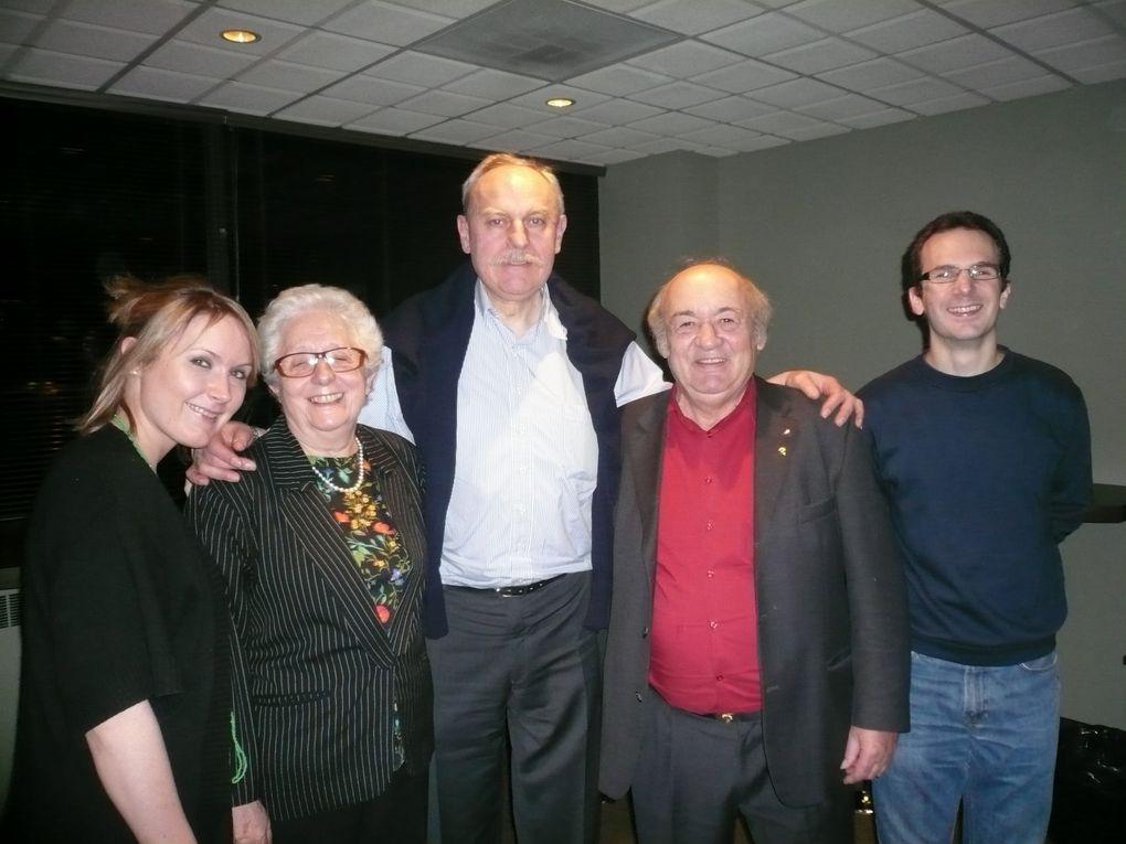 Notre réunion de section du 29 novembre 2009