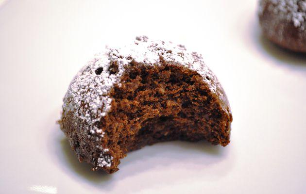 Fondant fort en chocolat sans farine