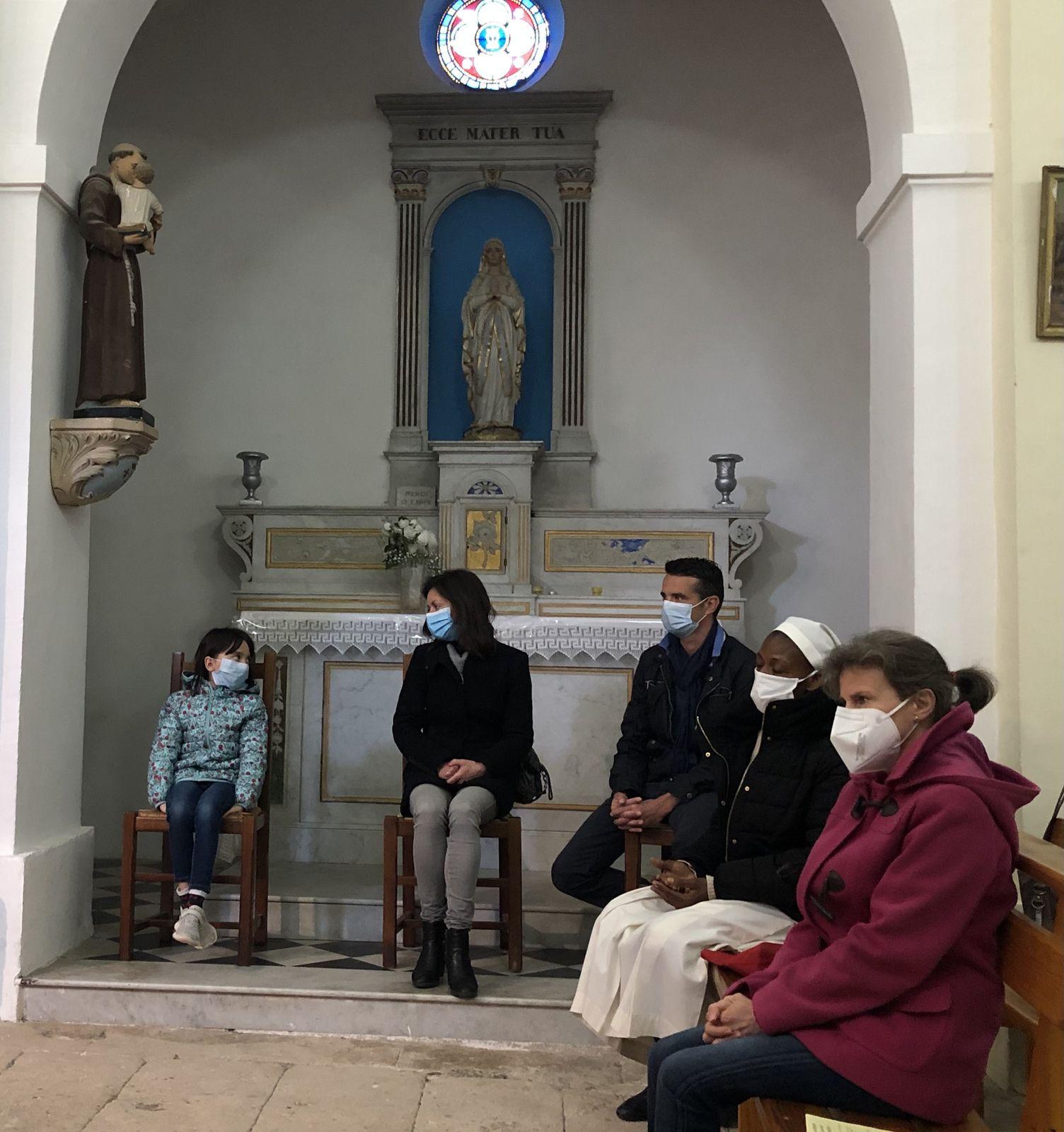 Les paroissiens étaient nombreux pour fêter la Pentecôte à Saint Julien.