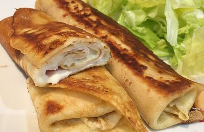 Les crêpes farcies de Cyril Lignac (version Thermomix)