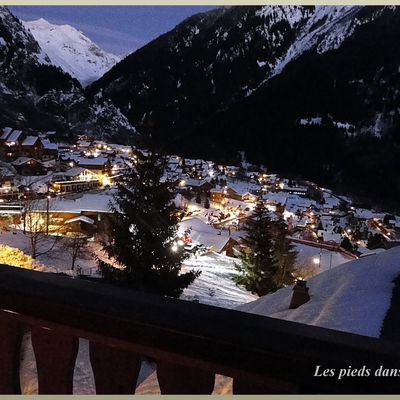 Champagny by night