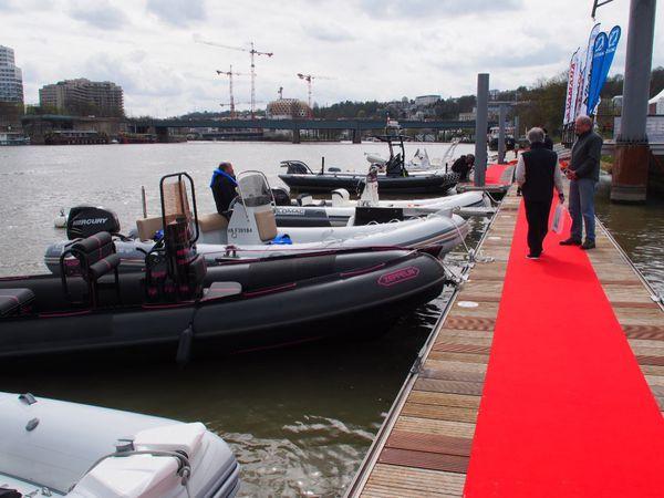 Boat en Seine 2016 - A Paris, succès pour les essais de semi-rigides sur la Seine