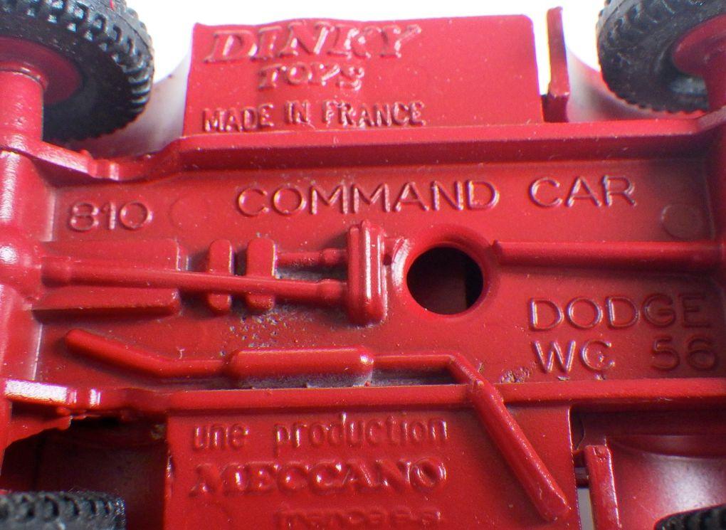 Un Dodge Command Car qui voit rouge ! (par Jérôme Hadacek)