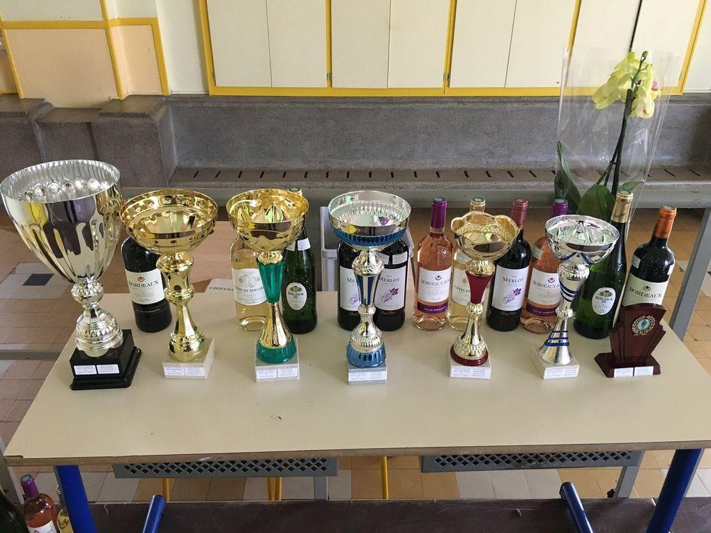 Le club de Fontenay a mis les petits plats dans les grands pour accueillir les participants avec une très belle dotation