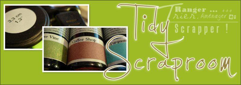Tidy Scraproom fait peau neuve