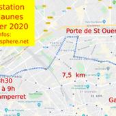 samedi 22 février: Manifestation à Paris des Gilets jaunes