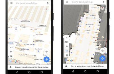 L'intérieur des gares débarque sur Google Maps à l'occasion de l'Euro - Plan et Street View