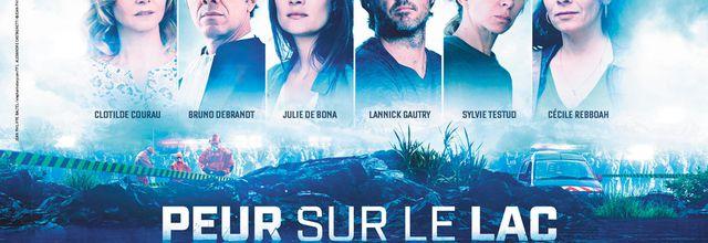 """La mini-série événement """"Peur sur le Lac"""" avec Julie de Bona diffusée dès le 9 janvier sur TF1"""