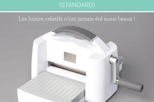 Machine de découpe et gaufrage Standard ENFIN disponible à la vente