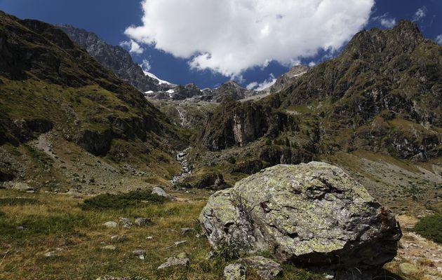 Le Gioberney : vers le col du Pigeonnier - Hautes-Alpes