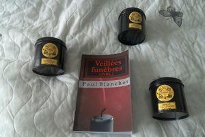 VEILLEES FUNEBRES de Paul BLANCHOT