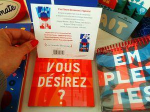 Emplettes de Jérémie Fischer, Les Grandes Personnes, 13,50 Euros, NOUVEAUTE, LIVRE /OBJET