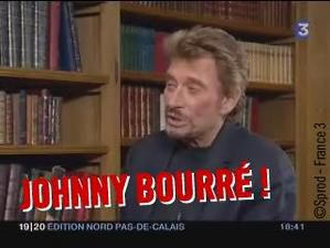 EXCLU : Johnny Hallyday bourré pendant une interview !