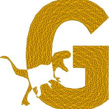 ABC dinosaure, la lettre G