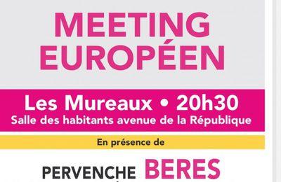Européennes 2014 : Meeting européen de la liste Choisir notre Europe le 7 mai aux Mureaux