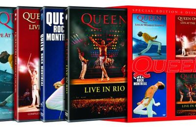 Eagle Rock Presents A QUEEN DVD Extravaganza