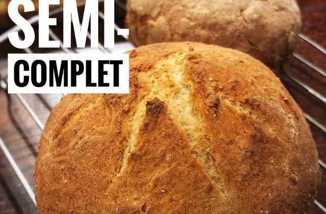 Petits Pains à la farine semi-complète